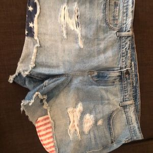 Denim shorts from Old Navy